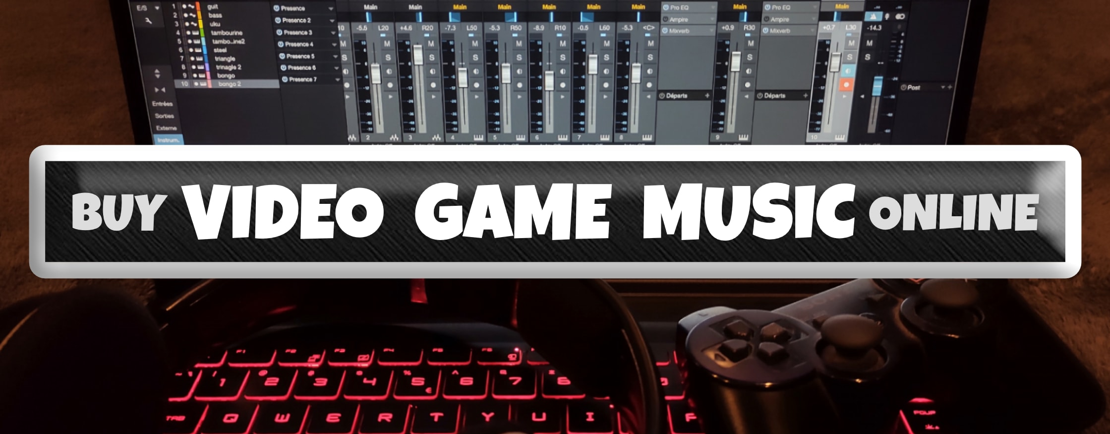 buy video game music online